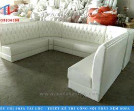 Xưởng sản xuất ghế sofa karaoke giá rẻ uy tín Tài Lộc chuyên mua bán bàn ghế karaoke toàn quốc.