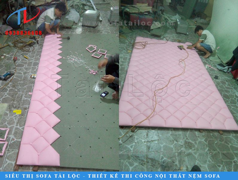 Tài Lộc là xưởng sản xuất vách ốp tưởng trang trí bằng gỗ bọc da bọc vải uy tín nhất toàn quốc nên được đông đảo khách hàng gần xa ủng hộ.