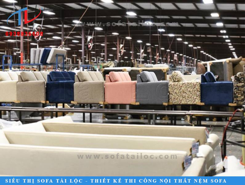 Tài Lộc - Xưởng sofa giá rẻ uy tín chuyên sản xuất, đóng mới, bọc lại nội thất bàn ghế sofa.