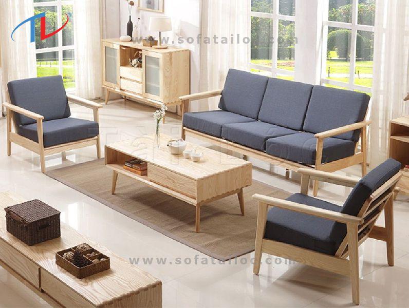 Bọc đệm ghế gỗ, bọc nệm lót ghế sofa gỗ là dịch vụ được đông đảo khách hàng chọn lựa tại nội thất sofa Tài Lộc
