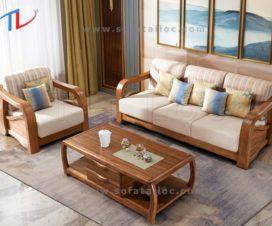 Bọc ghế sofa gỗ