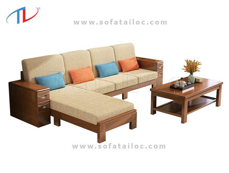 Bọc nệm ghế gỗ bằng vải bố thô là chất liệu khá được lòng nhiều người tiêu dùng hiện nay.