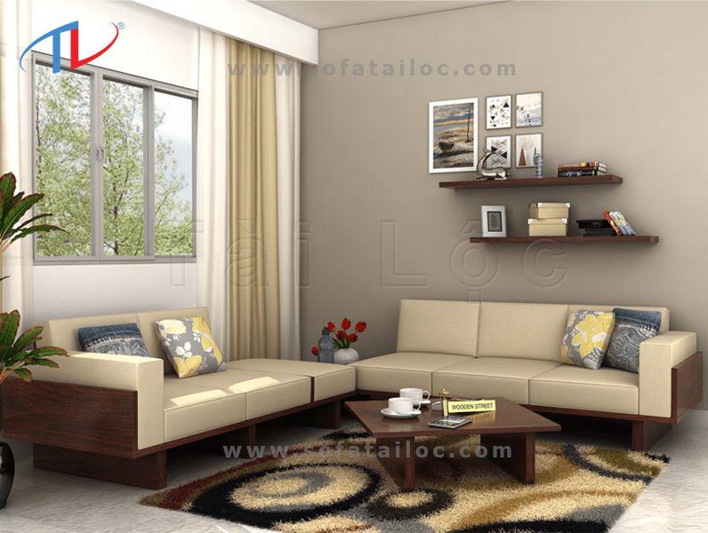 Việc bọc nệm sofa gỗ bằng vải nhung cũng là lựa chọn được nhiều khách hàng tin dùng hiện nay.