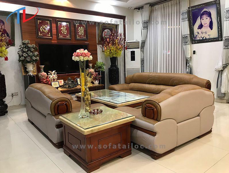 Công ty bọc ghế sofa da bò nhập khẩu Tài Lộc cam đoan mang đến vẻ đẹp đẳng cấp, chất lượng cho không gian nhà bạn.