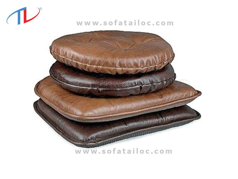 Đệm da cho ghế gỗ với nhiều thiết kế sang trọng, ấn tượng