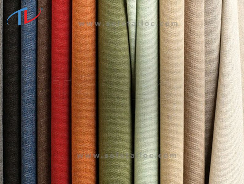 Một số mẫu vải bọc đệm ghế sofa gỗ
