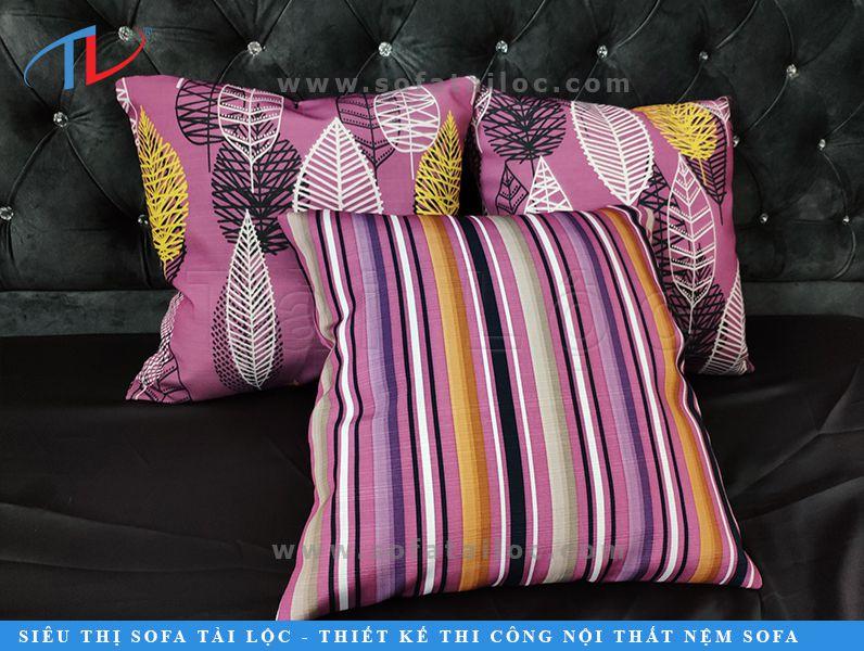 Gối vuông trang trí sofa