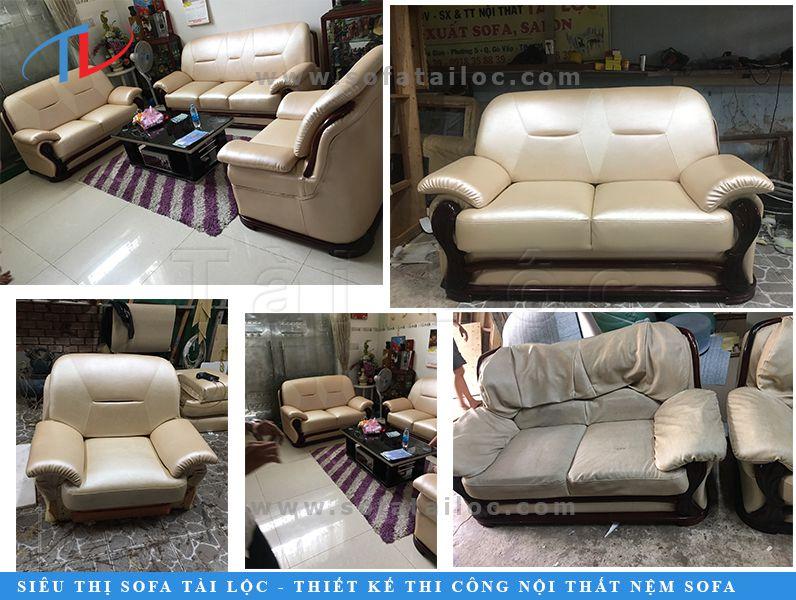 Xưởng bọc sofa uy tín tại TPHCM chuyên sửa chữa, may bọc ghế sofa chất lượng
