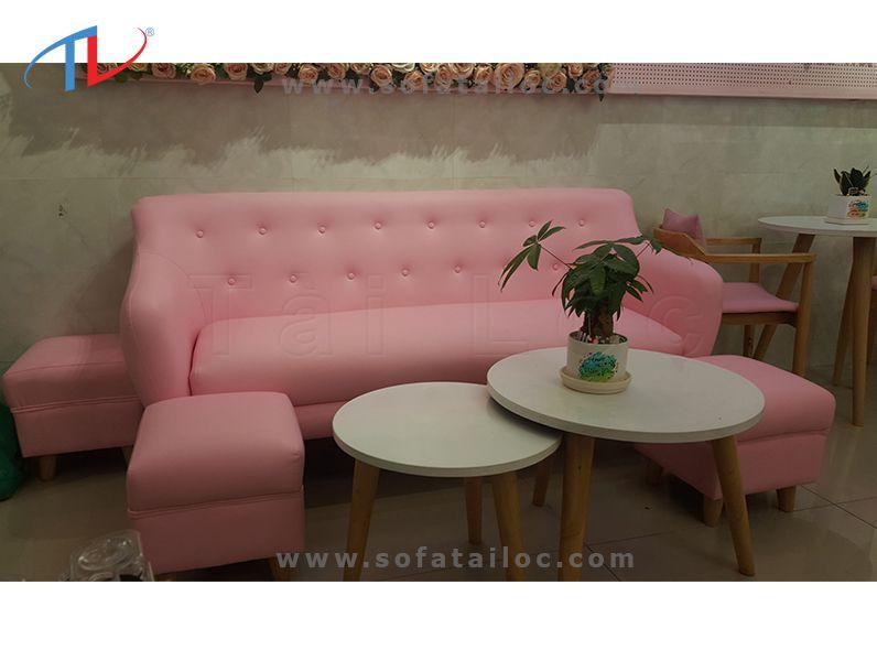 Bọc ghế sofa shop chuẩn đẹp, chuyên nghiệp, chất lượng