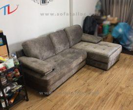 Bọc ghế sofa nỉ