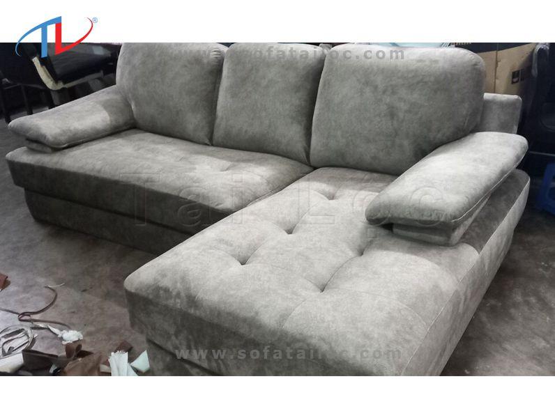 Thay bọc lại ghế sofa nỉ hoặc đổi chất liệu ghế từ da sang nỉ theo đúng yêu cầu của khách hàng