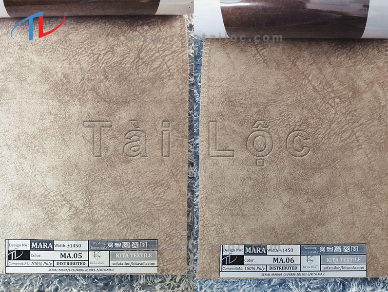 Mẫu vải bọc sofa mã 05-06 thường được sử dụng thường xuyên để kết hợp với những gam màu khác nếu khách hàng muốn phối màu cho không gian.