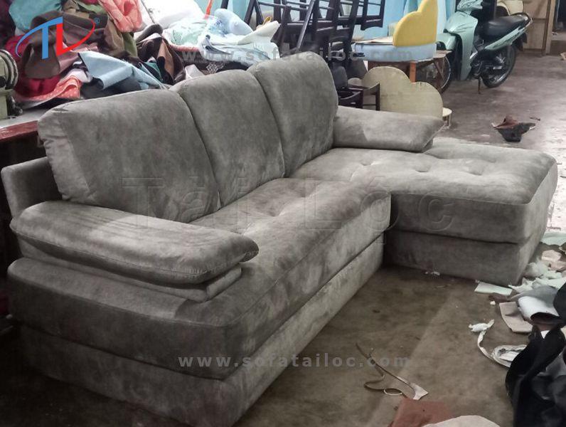 Xưởng sản xuất bọc ghế sofa nỉ chuẩn đẹp chất lượng