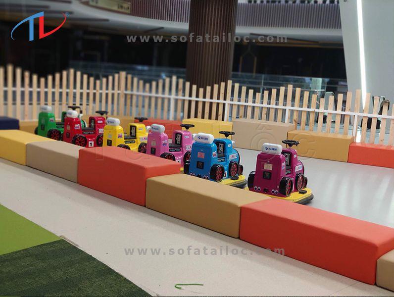 Đóng mới ghế khu vui chơi trẻ em