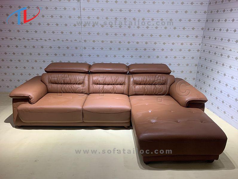 Đóng ghế sofa da thật - Sofa Tài Lộc